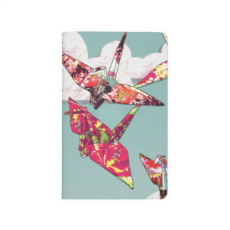 Paper Cranes Pocket Journal