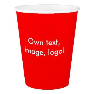 Paper Cups uni Red