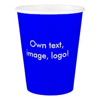 Paper Cups uni Royal Blue