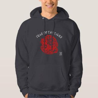 Paper Cut Tiger Sweatshirt