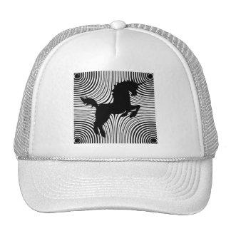 Paper Cut Unicorn Trucker Hat