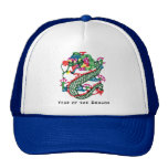 Paper Cut Year of The Dragon Gift Hats