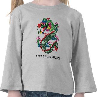 Paper Cut Year of The Dragon T-Shirt T Shirt