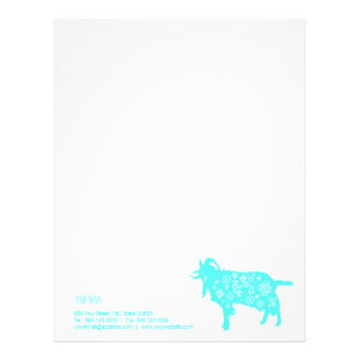 """"""" Paper Cutting """" Blue Goat Chinese new Year 2015"""