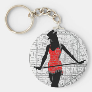 Paper Dance SF Keychain