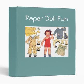 Paper Doll Fun Binder