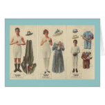 Paper Doll Note Cards