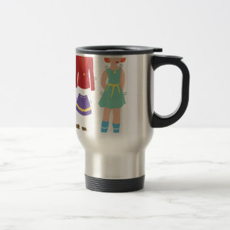 Paper Doll Travel Mug