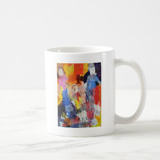 Paper Dolls A Painting by Connelly Classic White Coffee Mug