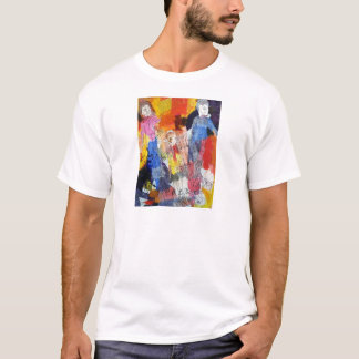Paper Dolls A Painting by Connelly T-Shirt