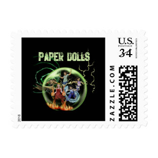 Paper Dolls Stamps