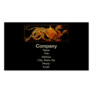 Paper Dragon Business Cards
