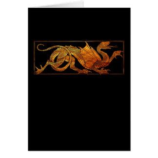 Paper Dragon Card