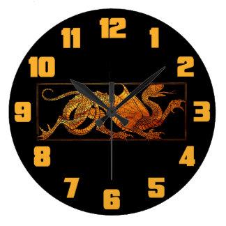 Paper Dragon Clock