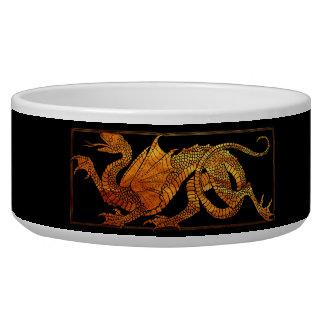 Paper Dragon Pet Food Bowl