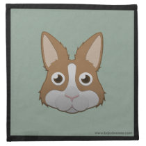Paper Dutch Bunny Napkins (4x)