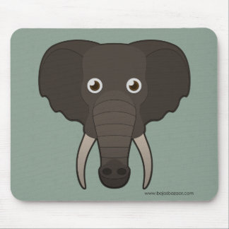 Paper Elephant Mouse Pad