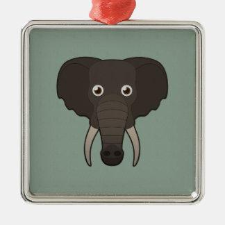 Paper Elephant Ornament