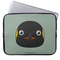 Paper Emperor Penguin Laptop Sleeve