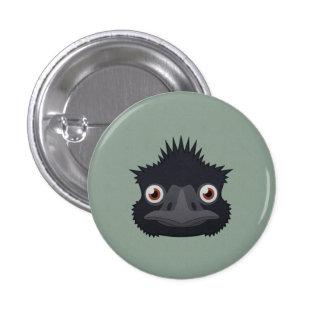 Paper Emu 1 Inch Round Button