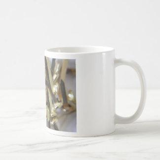 Paper fasteners office stationary coffee mug