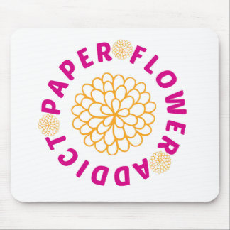 Paper Flower Addict - Molding Mat - Mouse Pad