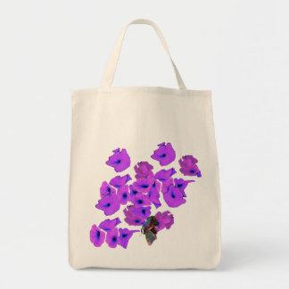 PAPER FLOWERS TOTE BAGS