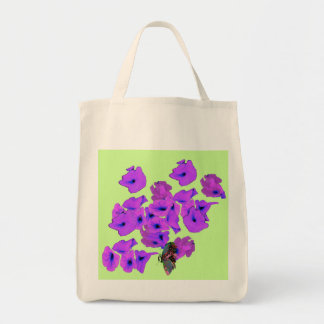 PAPER FLOWERS CANVAS BAGS