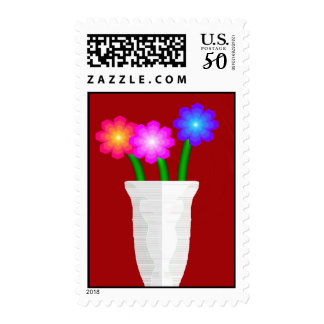 Paper Flowers Postage