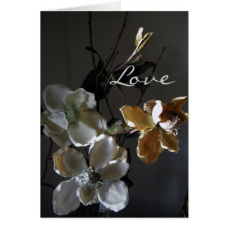 Paper Flowers Series Stationery Note Card