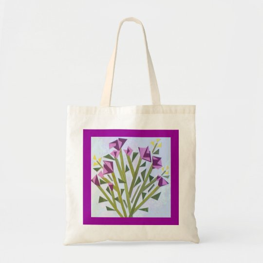 Paper Flowers Tote