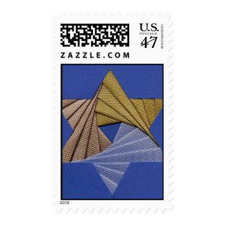 Paper Fold Star of David Postage
