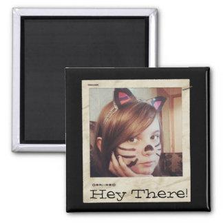 Paper Frame Old Instagram Photo add Text Refrigerator Magnet