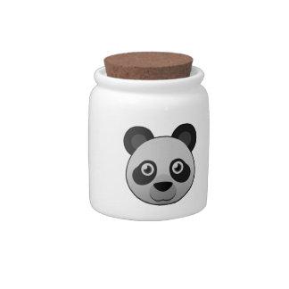 Paper Giant Panda Candy Jars
