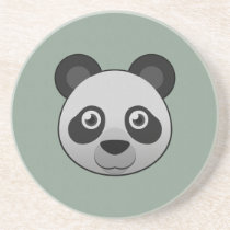 Paper Giant Panda Sandstone Coaster