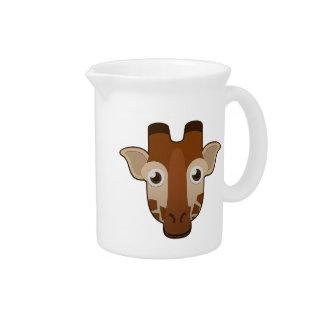 Paper Giraffe Drink Pitchers