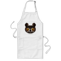 Paper Great Horned Owl Apron