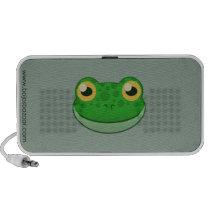 Paper Green Frog Doodle Speaker