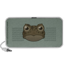Paper Green Toad Doodle Speaker