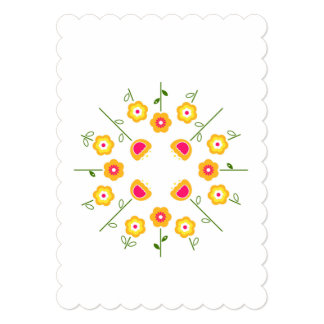 Paper greeting with Herbs Card