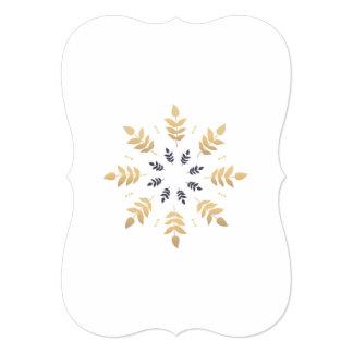 Paper greeting with Mandala art Card