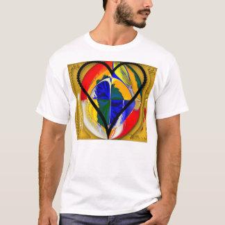 Paper Heart Cutout T-Shirt