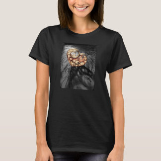 'Paper Heart I' Women's Basic Tshirt