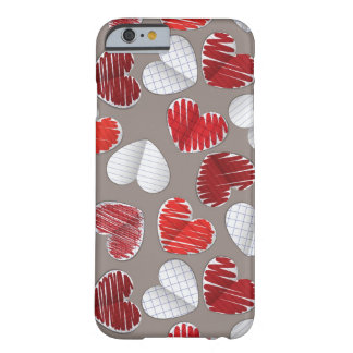 Paper Hearts Barely There iPhone 6 Case
