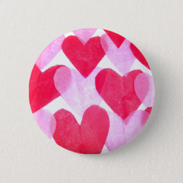 Paper Hearts Button
