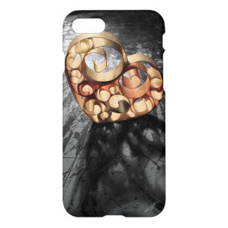 'Paper Hearts' iPhone 7 Case
