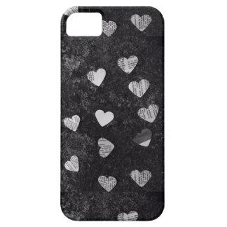 paper hearts iPhone SE/5/5s case