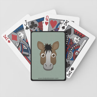 Paper Horse Bicycle Playing Cards