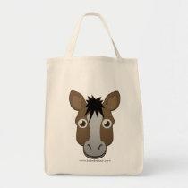 Paper Horse Tote Bag