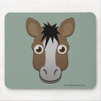 Paper Horse Mouse Pad